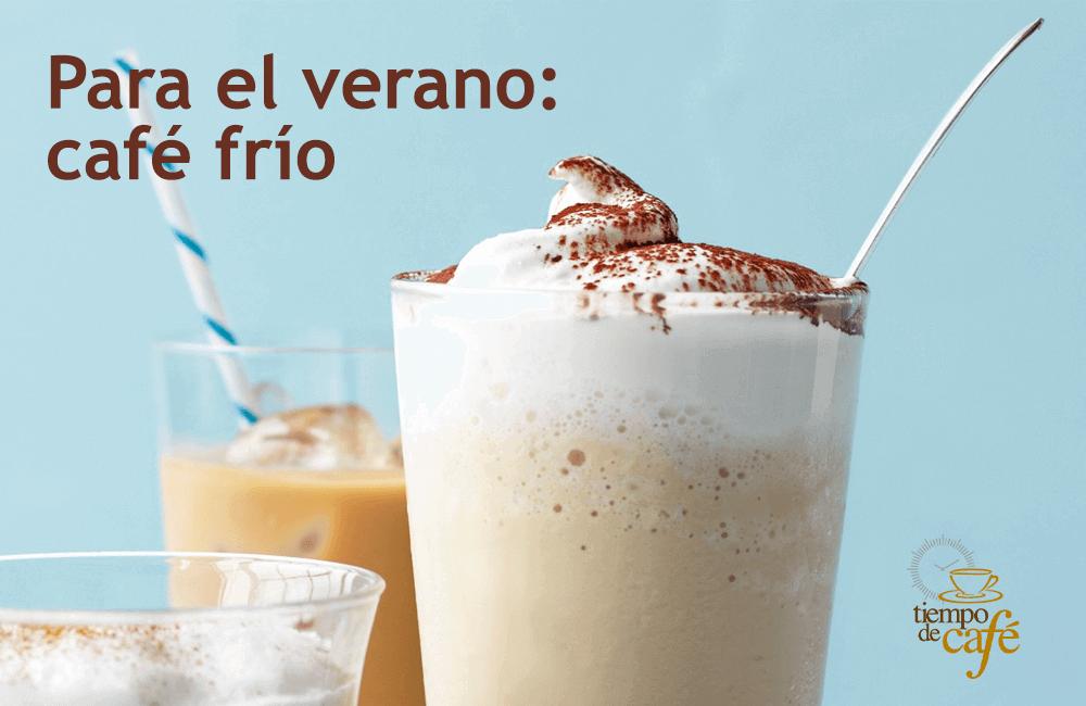Para el verano: café frío