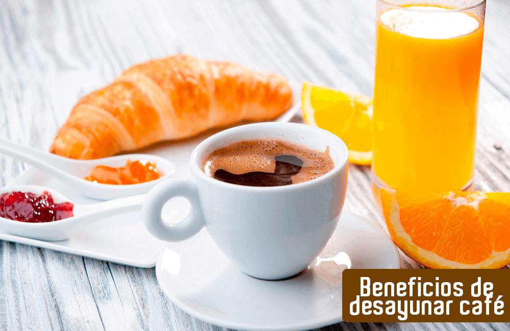 Los cinco beneficios de desayunar café