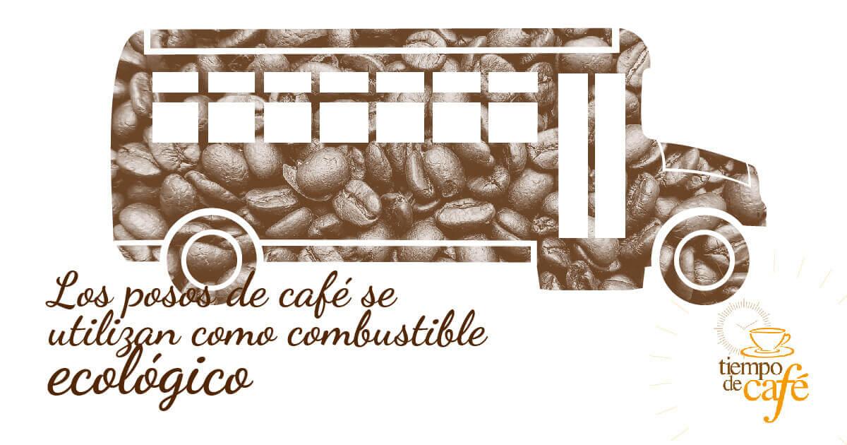 Los posos de café se utilizan como combustible ecológico
