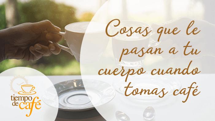Cosas que le pasan a tu cuerpo cuando tomas café