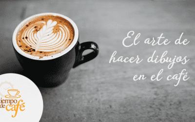 El arte de hacer dibujos en el café