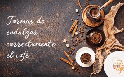 Formas de endulzar correctamente el café