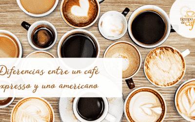 Diferencias entre un café expresso y uno americano